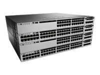 Cisco Catalyst 3850-24T-E - Switch - L3 - Managed - 24 x 10/100/1000 - desktop, rack-mountable