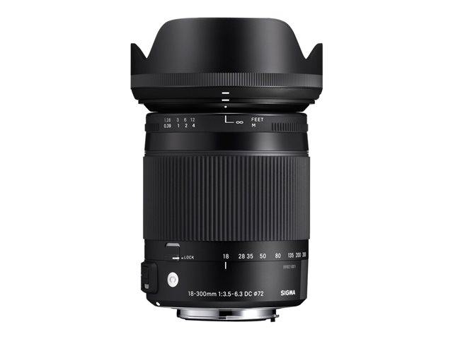 Sigma Contemporary - zoom lens - 18 mm - 300 mm