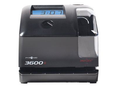 Pyramid 3600ss Multi-Purpose Time Clock & Document Stamp Time clock/document stamp