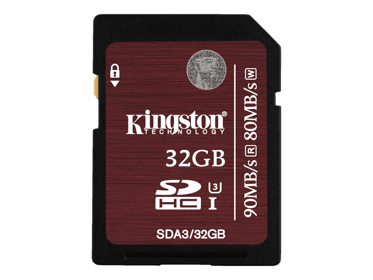 Kingston - Flash-Speicherkarte - 32 GB - UHS Class 3 - SDHC UHS-I