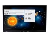 AVer CP3-65i 65INCH Class CP3 Series LED display interactive with touchscreen