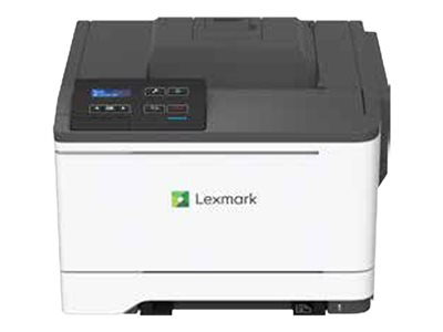 Lexmark C2325dw - Printer - color - Duplex - laser - A4/Legal - 1200 x 1200 dpi - up to 25 ppm (mono) / up to 25 ppm (color) - capacity: 250 sheets - USB 2.0, LAN, Wi-Fi(n) with 1 year Advanced Exchange Service