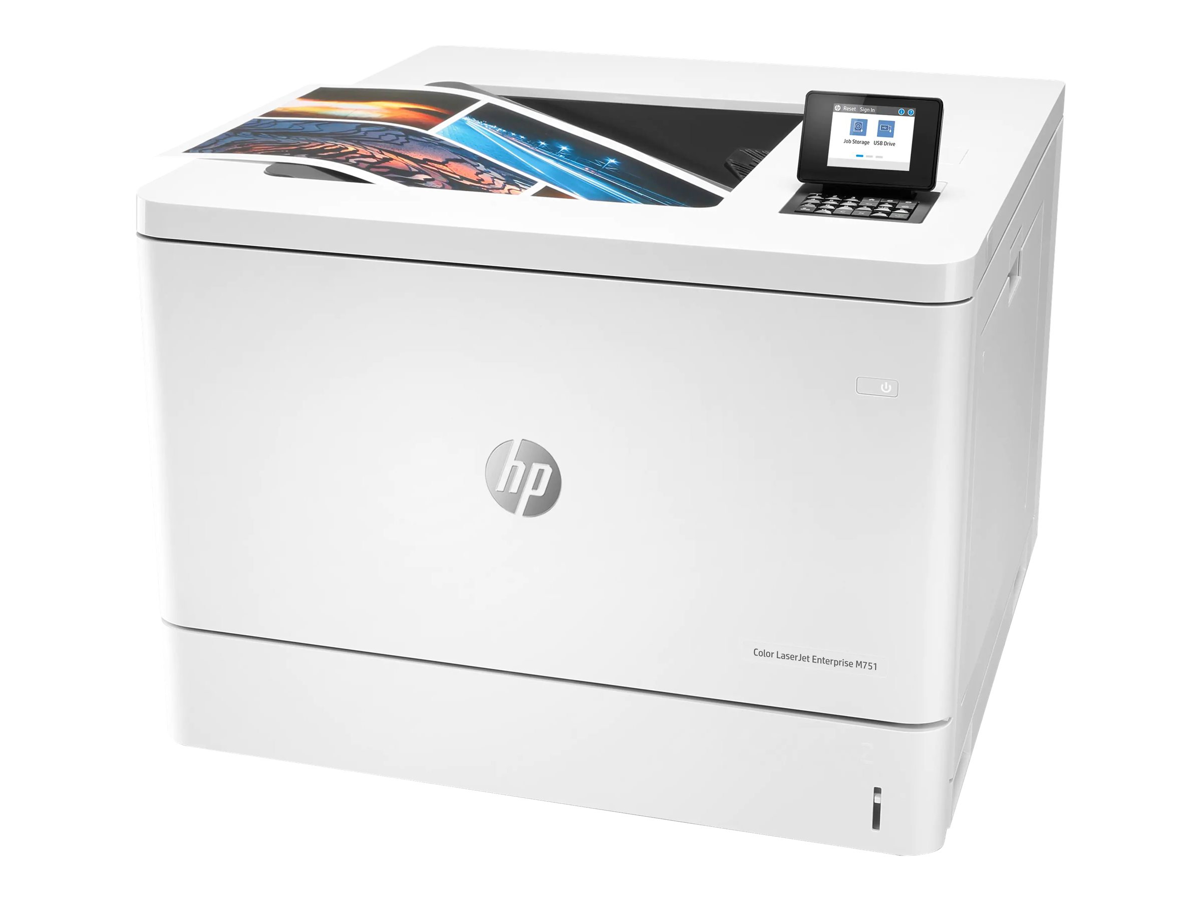 HP Color LaserJet Enterprise M751n - printer - color - laser