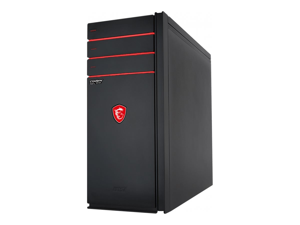 MSI Codex XE Plus 9SC 292US - tower - Core i7 9700K - 16 GB - 512 GB