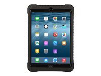 Max Cases Shield Case - Protective case for tablet - rugged - silicone, polycarbonate - black - for Apple iPad mini; iPad mini 2; 3