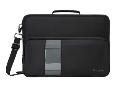 Targus Briefcase Notebook carrying case 14INCH gray, black