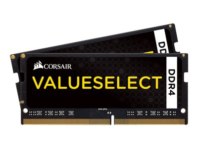 CORSAIR Value Select - DDR4 - 16 GB: 2 x 8 GB - SO DIMM 260-PIN - ungepuffert