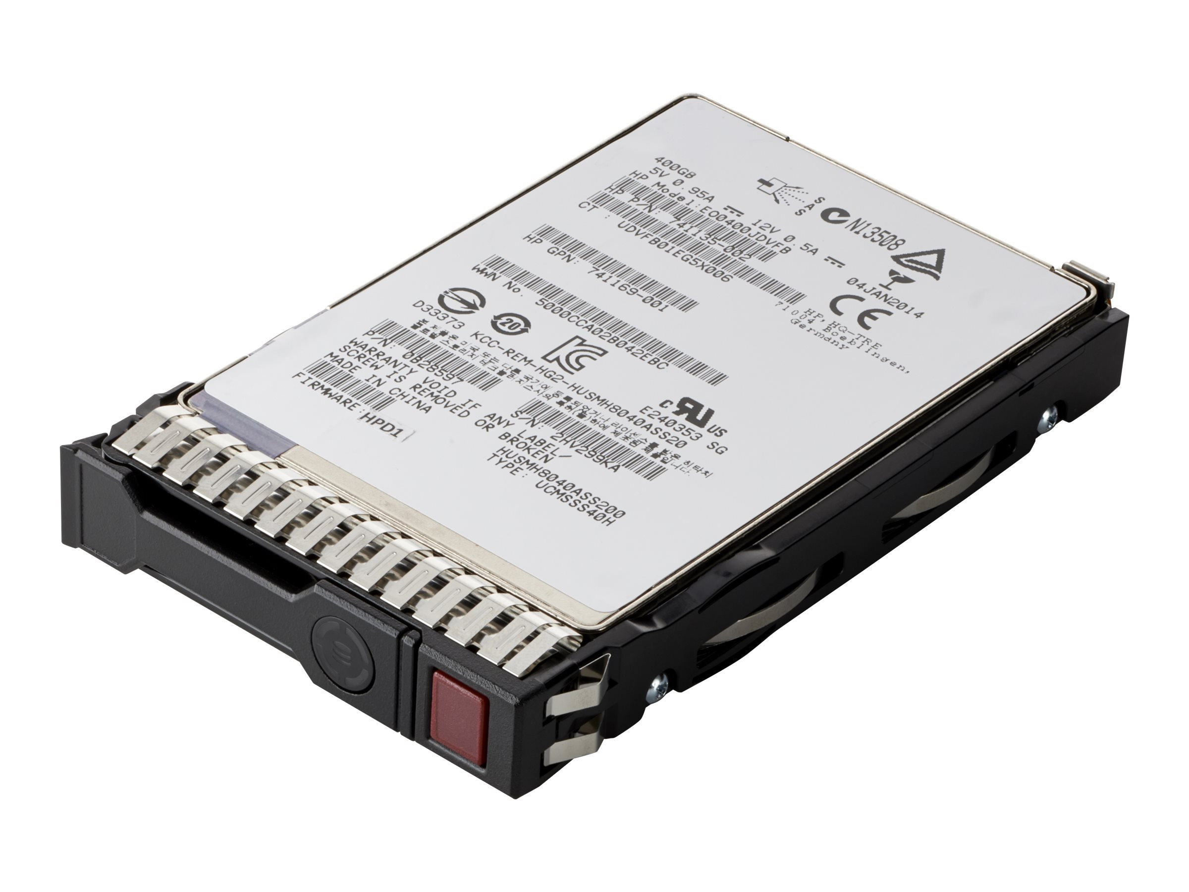 HPE Mixed Use - solid state drive - 3.84 TB - SATA 6Gb/s -