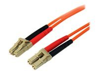 StarTech.com 3m Fiber Optic Cable - Multimode Duplex 50/125 - LSZH - LC/LC - Network cable - LC multi-mode (M) to LC multi-mode (M) - 3 m - fibre optic - 50 / 125 micron