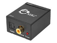 SIIG Digital to Analog Audio Converter - SPDIF to analog audio converter