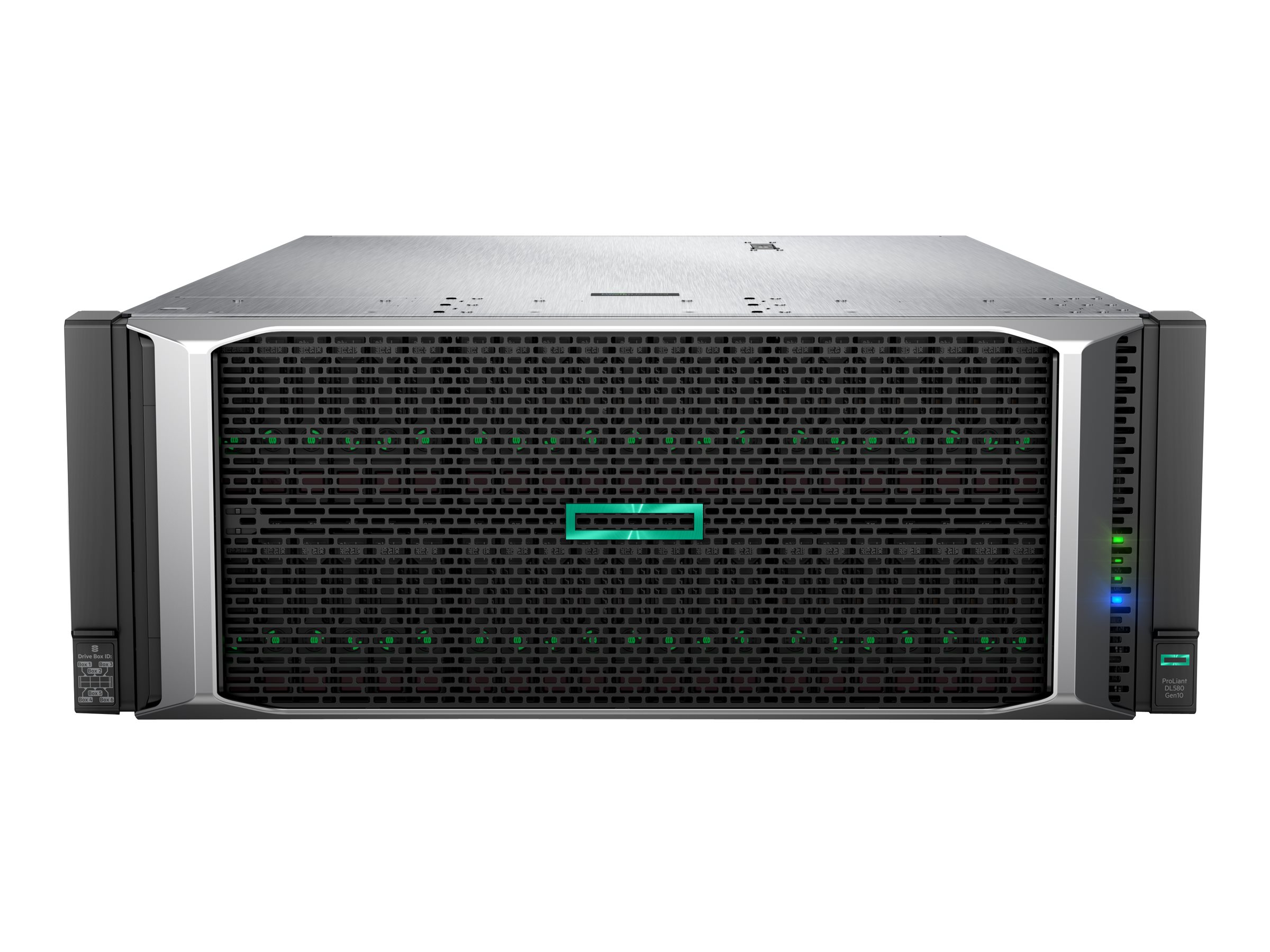 HPE ProLiant DL580 Gen10 - rack-mountable - no CPU - 0 GB - no HDD