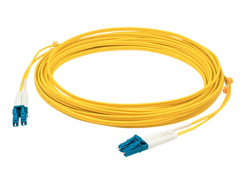 AddOn patch cable - 0.3 m - yellow