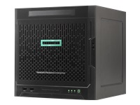 HPE ProLiant MicroServer Gen10 Entry - Server - ultra micro tower - 1-way - 1 x Opteron X3216 / 1.6 GHz - RAM 8 GB - no HDD - GigE - monitor: none