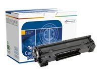 Image of Dataproducts - black - remanufactured - toner cartridge ( replaces HP 36A )