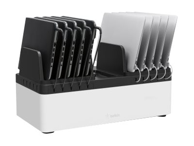 Belkin Store and Charge Go with fixed dividers - charging station - 120 Watt