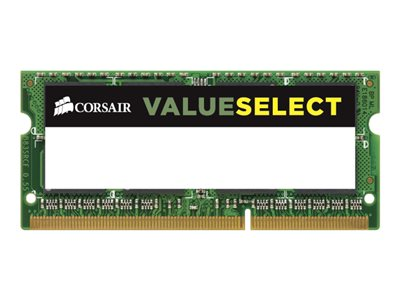 CORSAIR Value Select - DDR3L - 4 GB - SO DIMM 204-PIN - ungepuffert