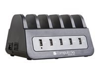 Picture of Compulocks Tablet / Phone USB Charging Hub Station - 5 Ports - EU phone / tablet / notebook charging