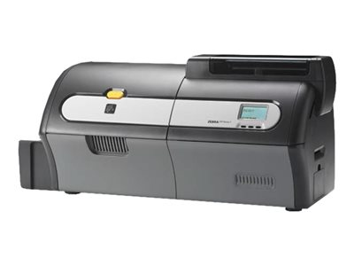 Zebra ZXP Series 7 - Plastic card printer - color - dye sublimation retransfer - CR-80 Card (3.37 in x 2.13 in) up to 300 cards/hour (color) - capacity: 200 cards - USB 2.0, LAN