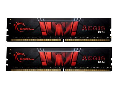 G.Skill AEGIS DDR4  32GB kit 3000MHz CL16  Ikke-ECC