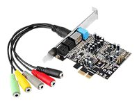 SIIG DP SoundWave Sound card 24-bit 192 kHz 7.1 PCIe 1.1 CM8828+CM9882A