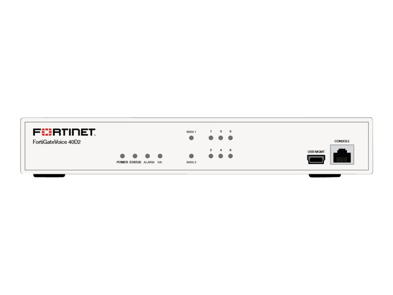 Fortinet FortiGate Voice 40D2 - security appliance