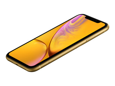 Apple iPhone XR - yellow - 4G - 128 GB - CDMA / GSM - smartphone