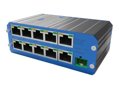 Veracity CAMSWITCH Plus 8 Switch unmanaged 8 x 10/100 (PoE+) + 2 x 10/100