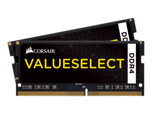 Corsair Value Select - DDR4 - 8 GB: 2 x 4 GB - SO DIMM 260-PIN - 2133 MHz / PC4-17000 - CL15