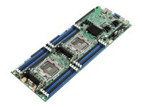 Intel Compute Module HNS2600TPF - Server - blade - 2-way - RAM 0 MB - no HDD - GigE, InfiniBand - monitor: none