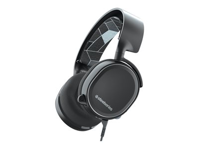 SteelSeries Arctis 3 Console Edition Kabling Sort Headset
