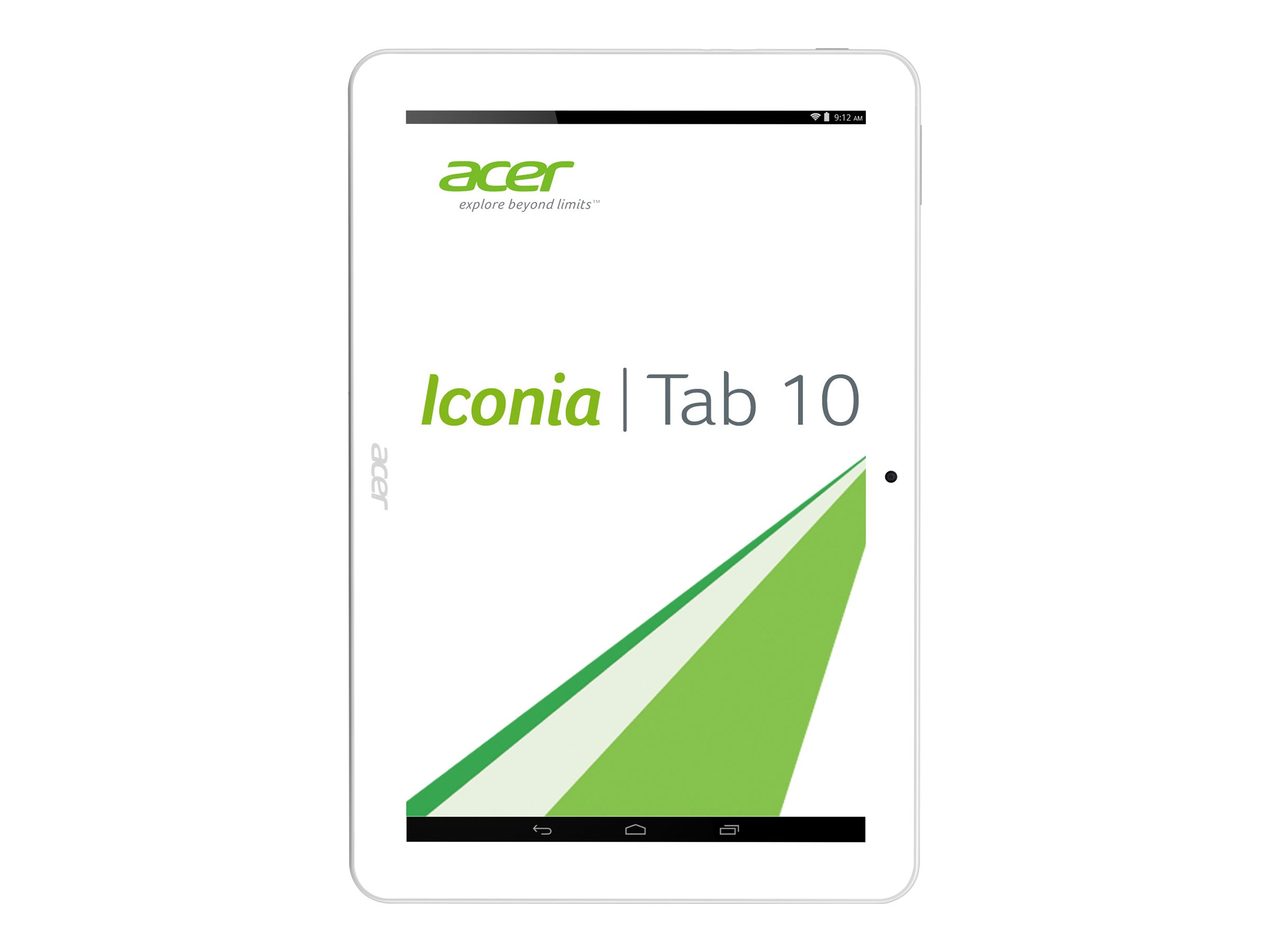 Acer ICONIA Tab 10 A3-A20-K7SZ - tablet - Android 4.4 (KitKat) - 32 GB - 10.1""