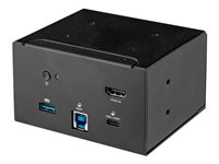 StarTech.com Laptop Docking Module for Conference Table Connectivity Box 4K HDMI