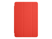 Apple Smart - Screen cover for tablet - polyurethane - orange - for iPad mini 4