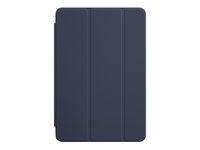 Apple Smart - Screen cover for tablet - polyurethane - midnight blue - for iPad mini 4