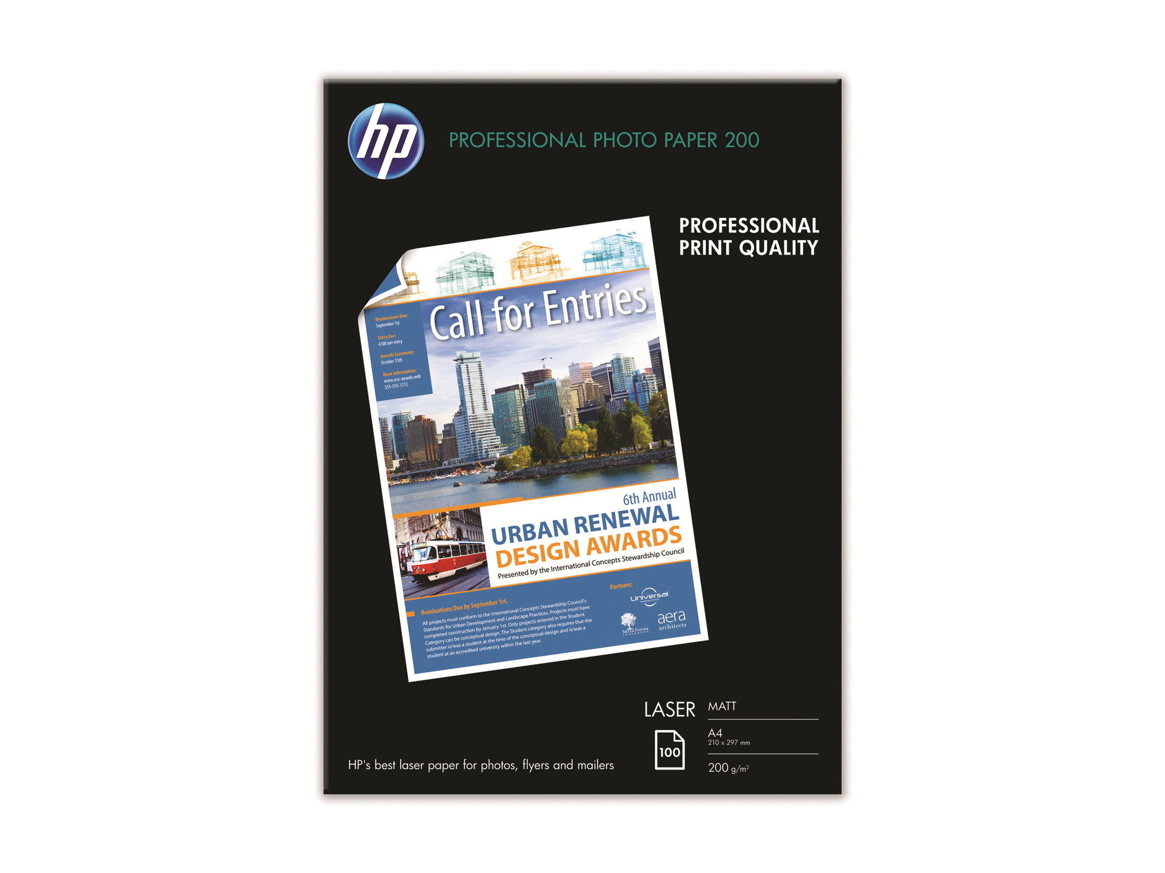 HP - photo paper - 100 sheet(s) - A4 - 200 g/m²