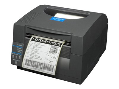 Citizen CL-S521 Label printer thermal paper Roll (4.65 in) 203 dpi up to 359.1 inch/min