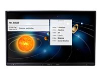 AVer CP3-75i 75INCH Class CP3 Series LED display interactive communication with touchscreen