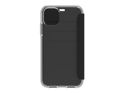 Griffin Survivor Clear Wallet Flip cover for cell phone black/clear for A