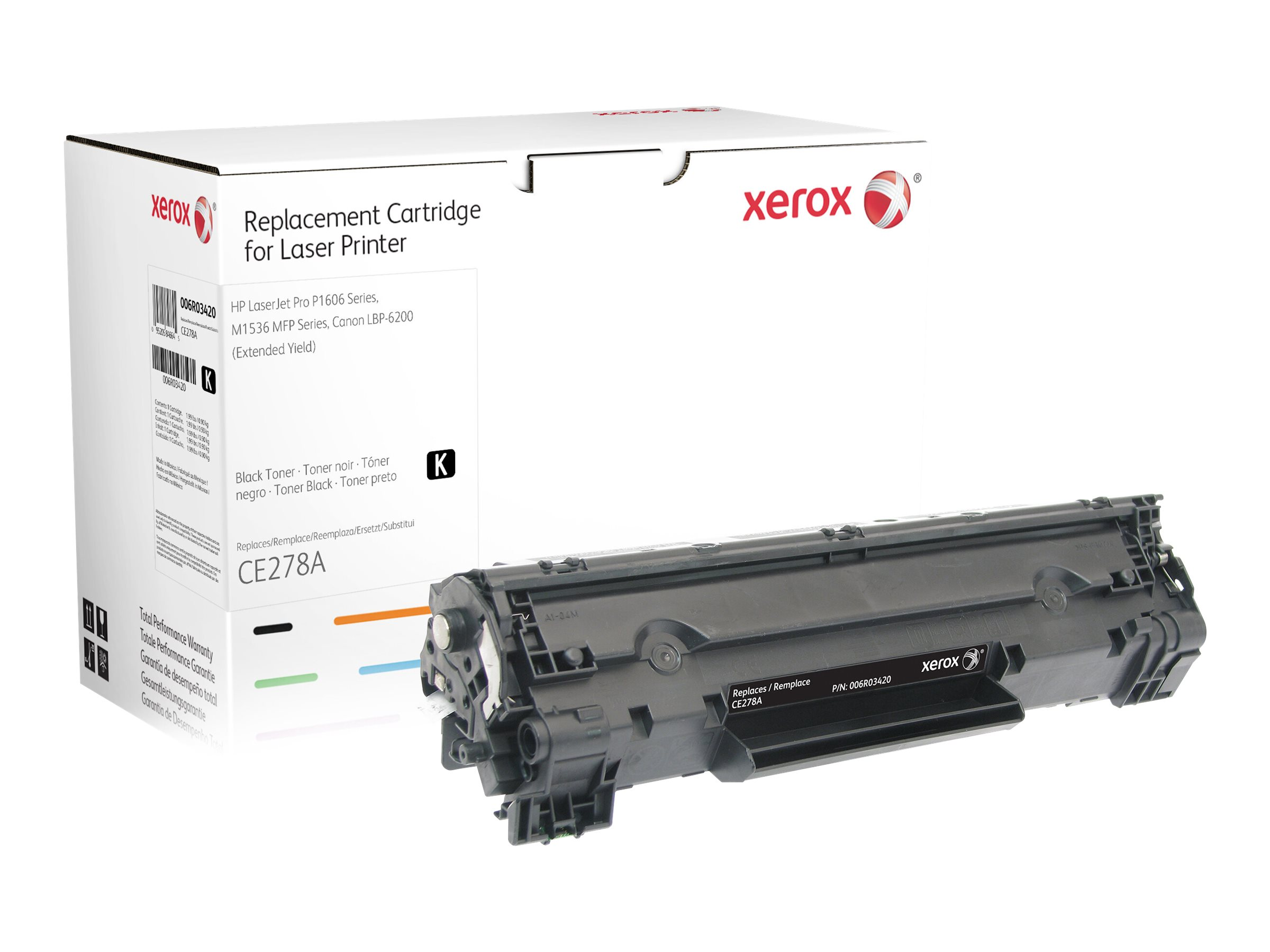 Xerox - Extended Yield - black - toner cartridge (alternative for: HP CE278A)
