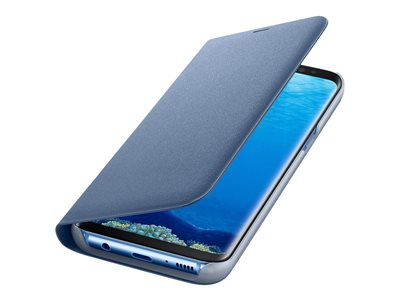 Samsung LED View Cover Beskyttelsescover Blå Galaxy S8