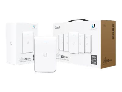 Ubiquiti Unifi UAP-AC-IW Wireless access point Wi-Fi Dual Band DC power in wall