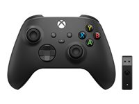 Microsoft Xbox Wireless Controller + Wireless Adapter for Windows 10 - Game Pad