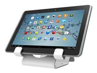 Compulocks Universal Tablet Holder Display With Keyed Cable Lock - CL12UTHWB