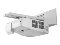 NEC UM301Wi (Multi-Pen) - 3LCD projector - 3000 ANSI lumens - WXGA (1280 x 800) - 16:10 - ultra short-throw lens - LAN