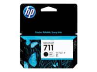 Picture of HP 711 - black - original - DesignJet - ink cartridge (CZ129A)