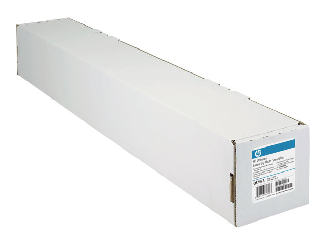 HP Universal Instant-Dry Photo Semi-Gloss - Semi-glossy - 7.4 mil - Roll (152.4 cm x 61 m)