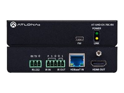 Atlona AT-UHD-EX-70C-RX - video/audio/infrared/serial extender - HDMI