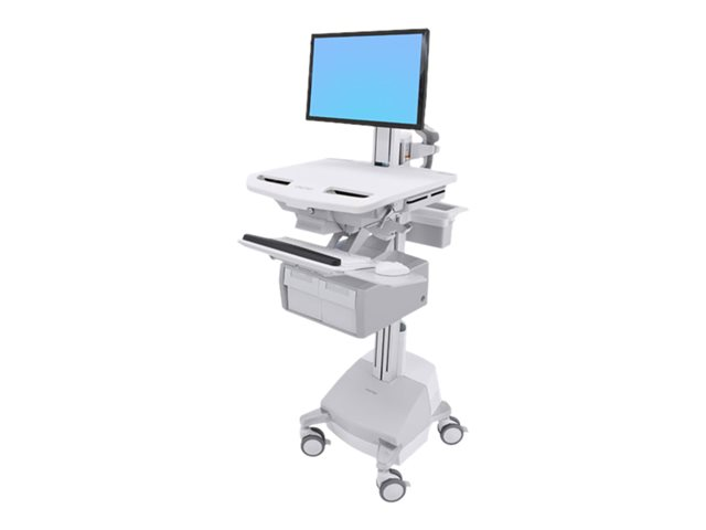 Ergotron StyleView - Cart - for LCD display / PC equipment (open architecture) - lockable