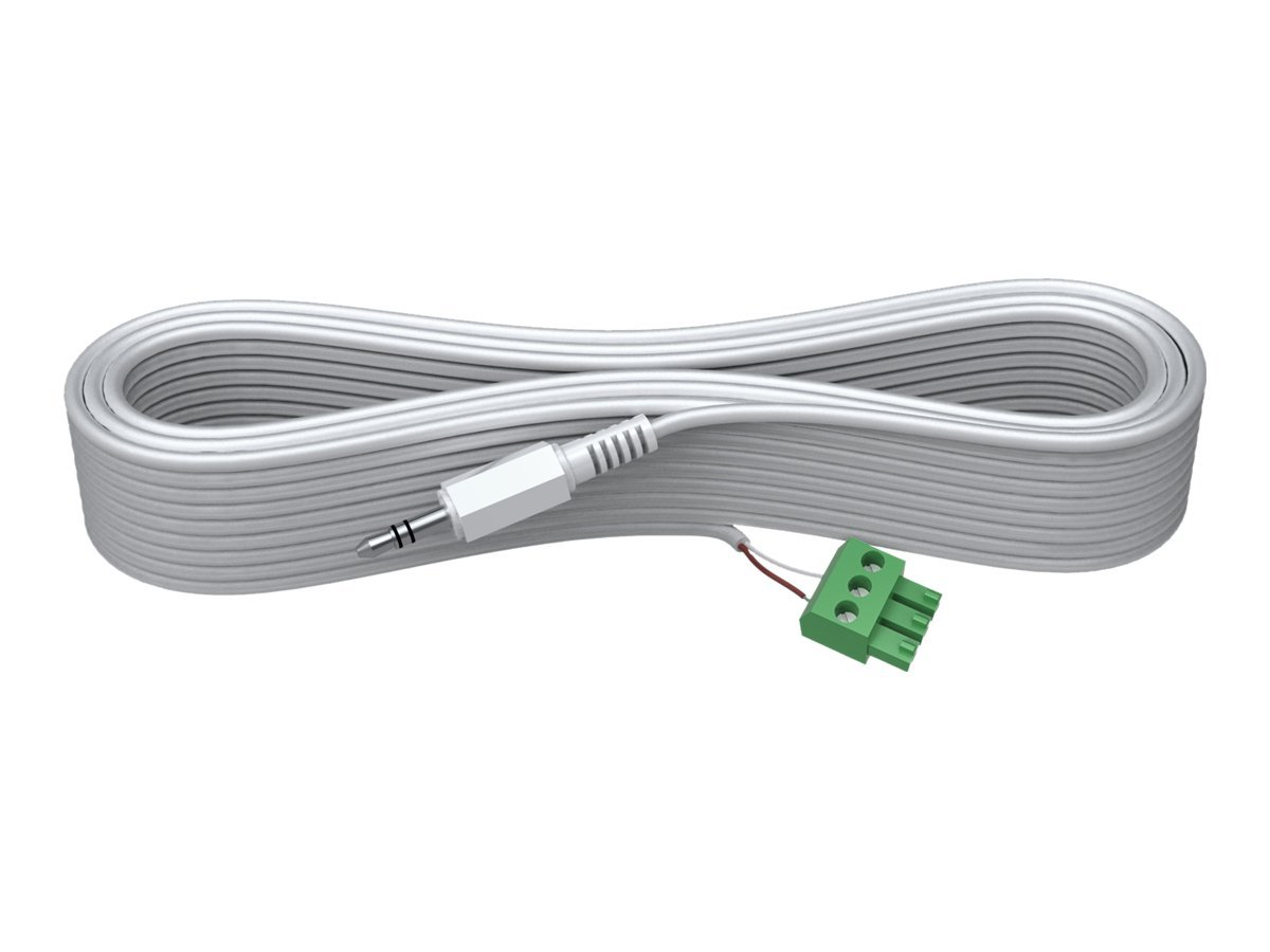 VISION Techconnect 2 - Audiokabel - Mini-Stecker (M) - 5 m - weiß - geformt