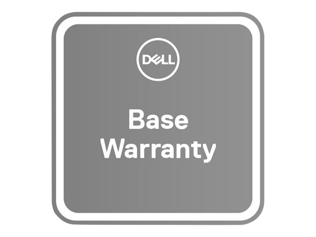 Dell Upgrade from 1Y Basic Onsite to 5Y Basic Onsite - extended service agreement - 4 years - 2nd/3rd/4th/5th year - on-site